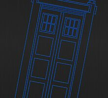 Blue box outline by puppaluppa