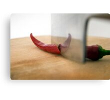 Red Hot Pepper Canvas Print