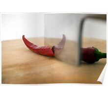 Red Hot Pepper Poster