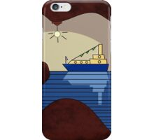 Lonely little sailor (dark) iPhone Case/Skin