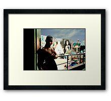 Graffitti Hall of Fame  Framed Print