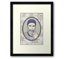 Salty Sea Dog Framed Print