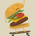 Burger Wipe-Out  by Terry  Fan