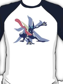 Greninja with Water Kanji T-Shirt