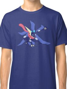 Greninja with Water Kanji Classic T-Shirt