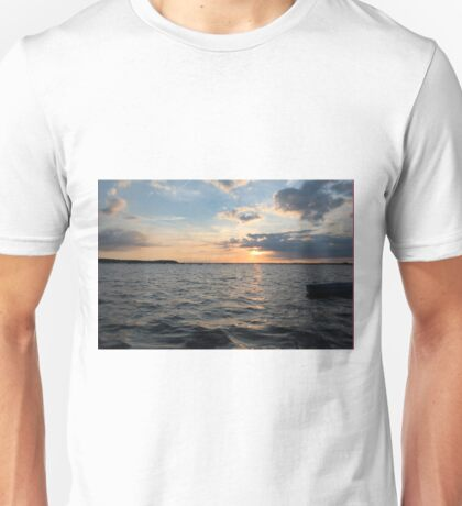 Sandbanks Sunset Unisex T-Shirt