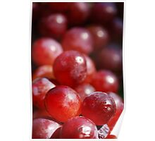 Red Grapes Poster