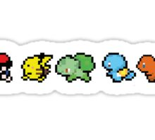 8 Bit Trainer and Starters Sticker