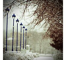 A walk in November Photographic Print