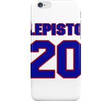 National Hockey player Sami Lepisto jersey 20 iPhone Case/Skin