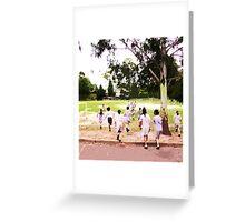 kids moving away Greeting Card