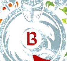 Berk University Sticker