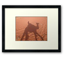 Shadowplay Framed Print