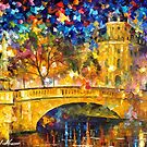 Bridge Of Respect — Buy Now Link - www.etsy.com/listing/213931894 by Leonid  Afremov