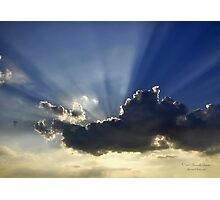 """A shot for Axel """"Lighting Up A Sky"""" Photographic Print"""