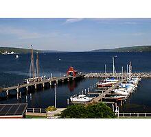 Seneca Lake Harbor Photographic Print