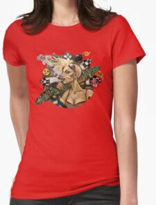 Tank Girl Nouveau Womens Fitted T-Shirt