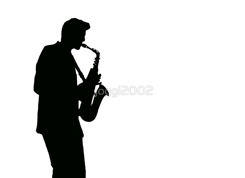 Quot Saxophone Player Quot Posters By Joggi2002 Redbubble
