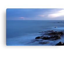 Storm approaching the East Coast of South Africa. Canvas Print