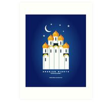 Literary Classics Illustration Series: Arabian Nights Art Print
