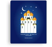 Literary Classics Illustration Series: Arabian Nights Canvas Print