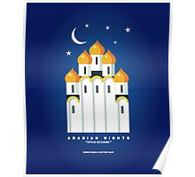 Literary Classics Illustration Series: Arabian Nights Poster