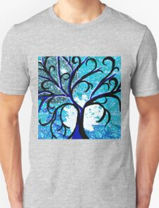 The Silver Moon Tree Unisex T-Shirt