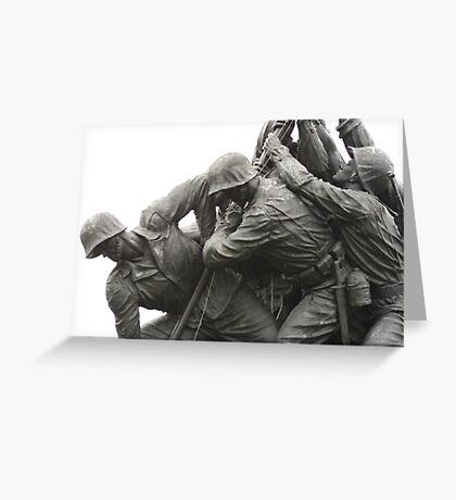 Marines Greeting Card