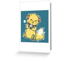 Kokkuri-san Greeting Card