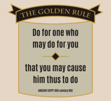 Golden Rule by Secularitee