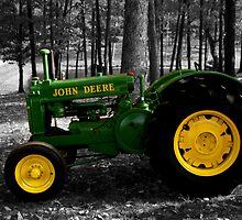 John Deere by Aubrey  Bergman