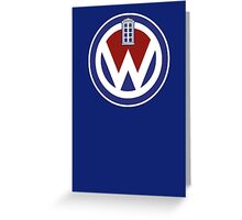 WHOVIAN INSIDE  Greeting Card