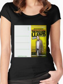 King Kaufman: The Passion of Lloyd (2008) - Movie Poster Postcard Women's Fitted Scoop T-Shirt