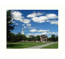The Green, Dartmouth College, Hanover, NH Art Print