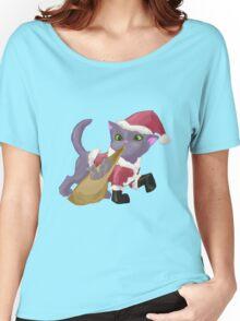 Santa Kitten Women's Relaxed Fit T-Shirt
