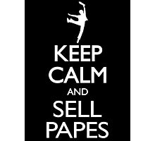 Headlines Don't Sell Papes- Newsies Sell Papes! Photographic Print