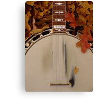 Shane's Banjo Canvas Print