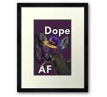 Swag Deer v.2 Framed Print