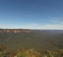 Sublime Point.  Leura, Blue Mountains, NSW by Mandy Gwan