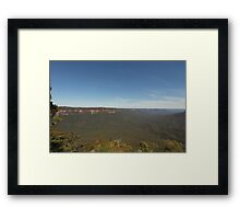 Sublime Point.  Leura, Blue Mountains, NSW Framed Print