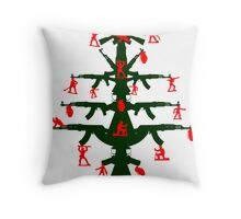 Merry Christmas (I Don't Want To Fight Tonight) Throw Pillow