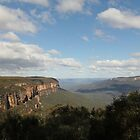 Wentworth Falls.  Blue Mountains, NSW by Mandy Gwan