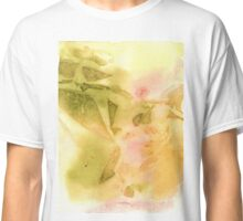 Watercolor Abstraction: Plastic Wrap Classic T-Shirt