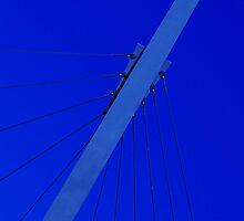 Wires in Blue by Aussiebluey