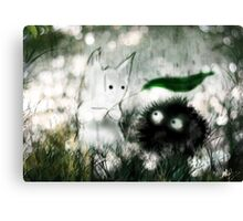 Ghibli Friends Canvas Print