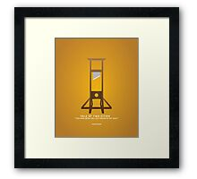 Literary Classics Illustration Series: Tale of Two Cities Framed Print