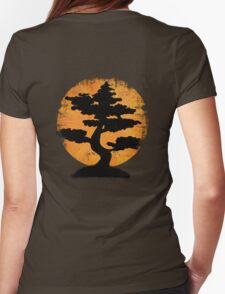 Vintage Bonsai Womens Fitted T-Shirt