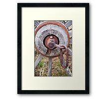 Wagon Wheel 2 Framed Print