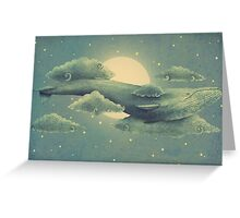 Sky Diver  Greeting Card