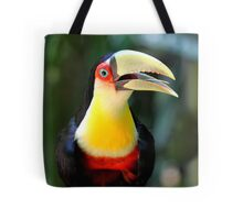 Red Breasted Toucan at Iguassu, Brazil  Tote Bag